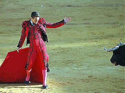 José Maria Manzanares har ingen bra säsong i år, men triumferade denna dag.