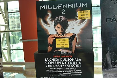Cinesur och Sydkusten ordnade biovisning av Millenium II på originalspråk!