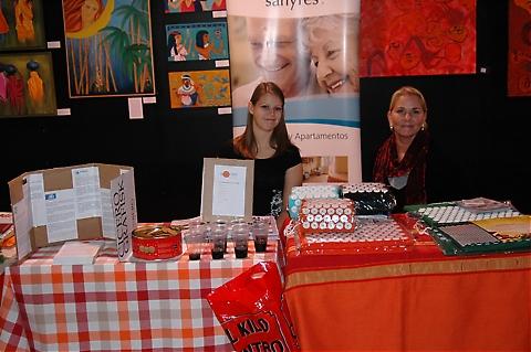 """Foto från """"Suecia en España III"""", Sydkustens svenskdagar 20-21 november 2009 på köpcentret Parque Miramar, i Fuengirola."""