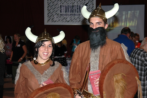 Vikingarna invaderade Parque Miramar