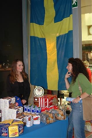 Svenskbutiken Casa Nórdica var lika populär bland svenskarna som spanjorerna som besökte basaren