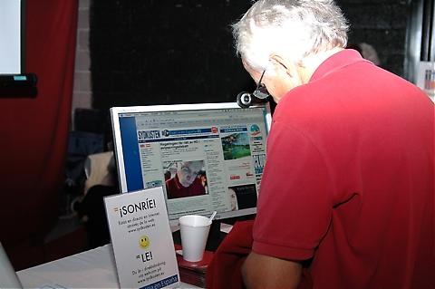 Julbasaren sändes direkt via webcam på Sydkustens hemsida.