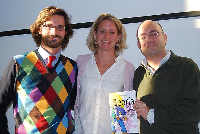 Nacho Mata, Málaga Sensaciones, Carin Osvaldsson, Sydkusten, och Alfonso Vázquez, författare och journalist på La Opinión de Málaga.