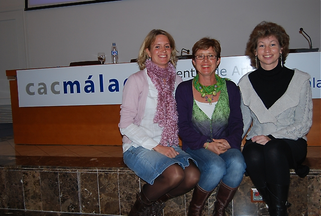Tre svenska Málagabor; Sydkustens Carin Osvaldsson samt Anna Berntsson och Anna Billqvist från Radio Solymar, delade med sig av tips och anekdoter om hur det är att leva i Málaga.