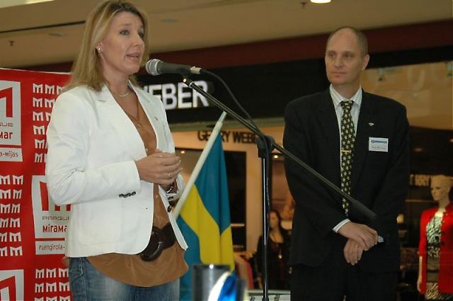 Fuengirolas utlänningsråd Katja Westerdahl avslöjade att hon själv har svenskt påbrå.