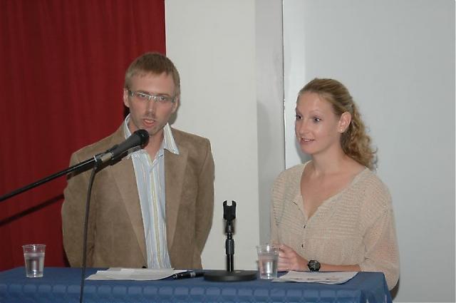 Stefan Brolin och Lisa Nilsson från Fastighetsmäklare Åsa Pettersson analyserade den nuvarande situationen på bostadsmarknaden.