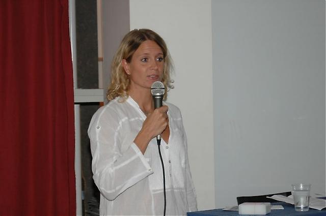 Carin Osvaldsson berättade med en mängd bilder om sitt Málaga, där hon bott i snart tio år.