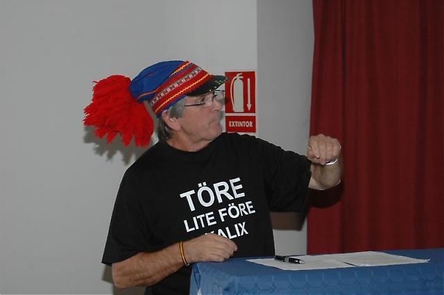 Amador Martínez talade med kärlek om sitt älskade Norrland.