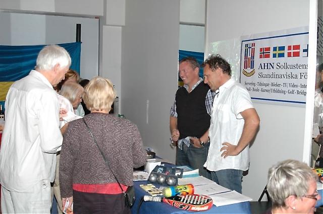 AHN i Fuengirola-Mijas lanserade sina många aktiviteter och hade en tipstävling.