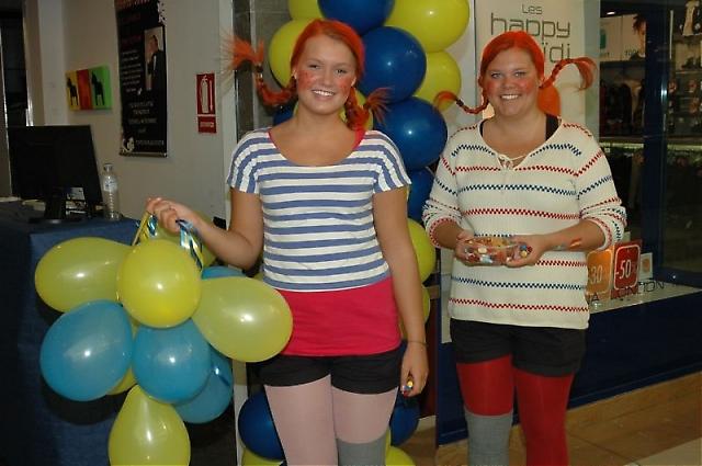 Barnens favorit är utan tvekan Pippi Långstrump – och om hon dessutom kommer med ballonger och godis är det kalas!