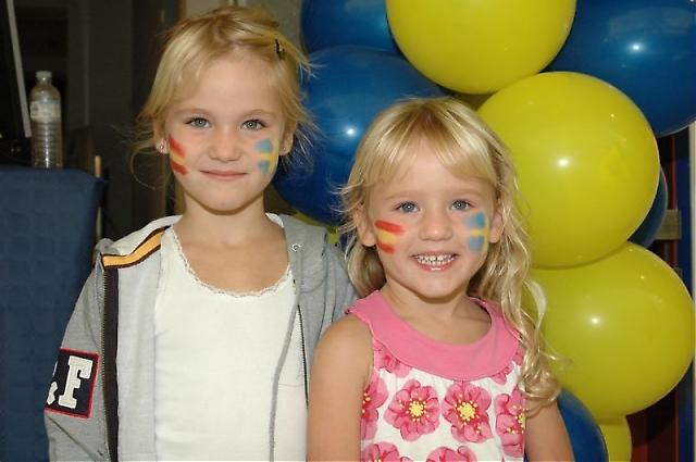 I år var det extra mycket roligt för barnen på Svenskdagarna.