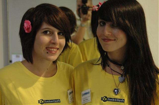 Ada och Eva Téllez.