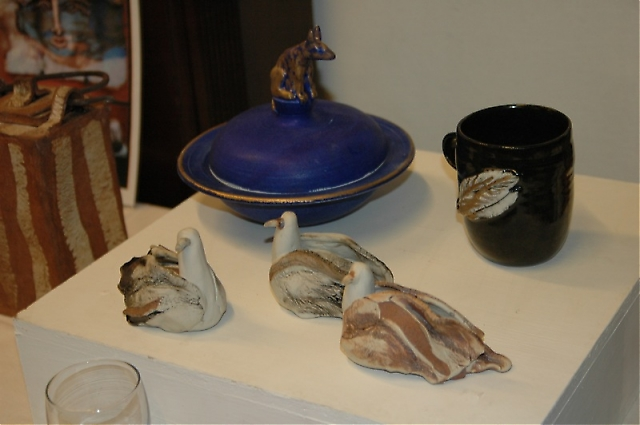 Konstnären Agneta Larserns keramik är välkänd på Costa del Sol.