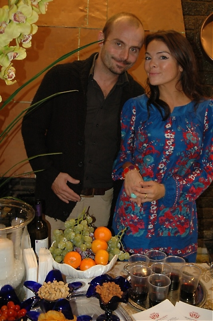 Fredrik Gebauer och Natalie Kern från Marbella Home Styling.