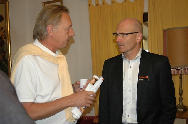 Swedbanks representant i Marbella Kent Schanke har varit med samtliga tre SWEA mässor.
