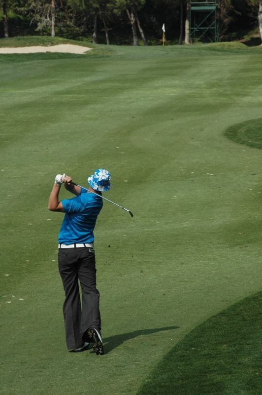 Foto från Open de Andalucía på Aloha Golf (Marbella) 16 mars 2012. Foto: Richard Björkman