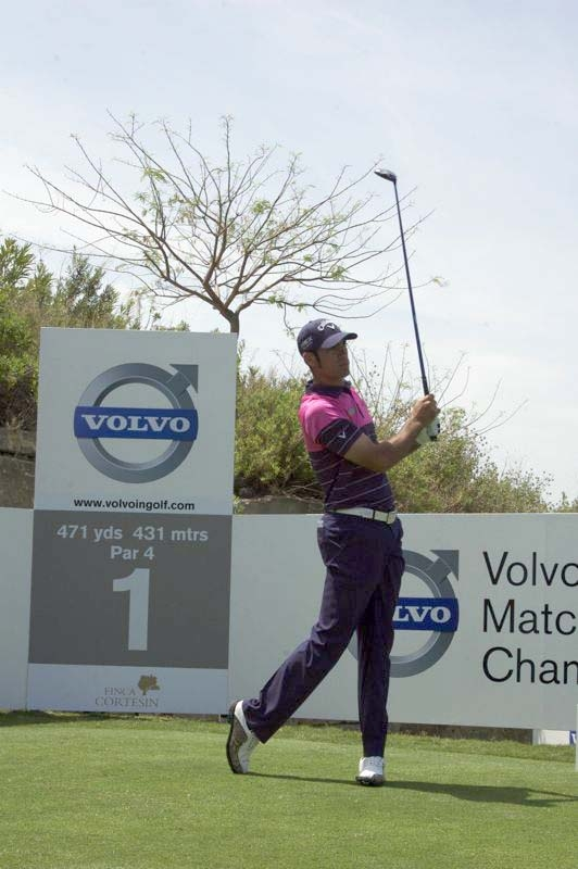Bild från Volvo World Match Play Championship på Finca Cortesín 17 maj 2012. Foto: Mats Björkman