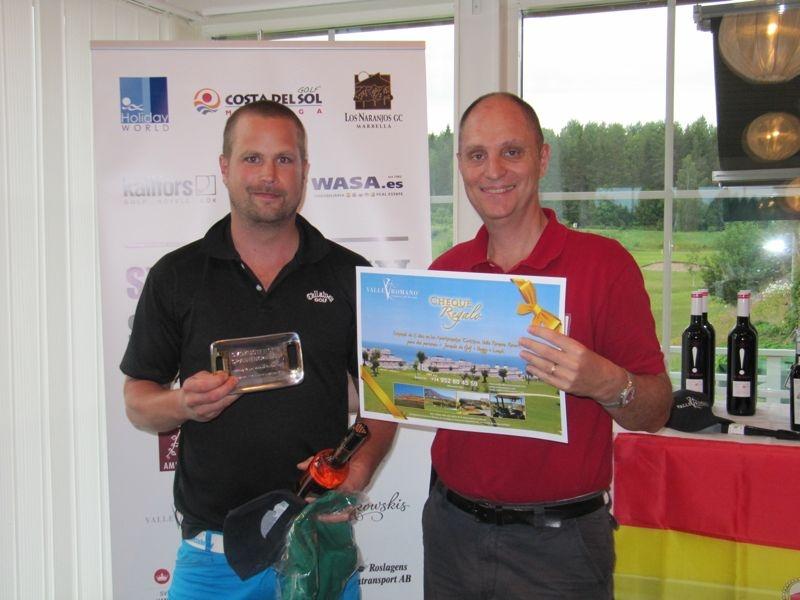 Den individuella tävlingen i Sydkustens Spaniengolf III spelades 18 juni 2012 på Kallfors GK.