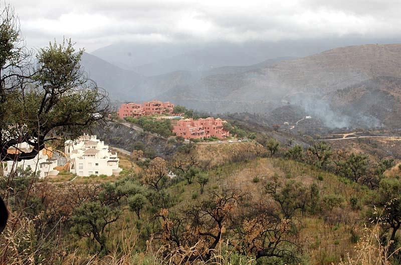 La Mairena är ett av de bostadsområden som drabbats värst.