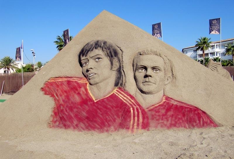 David Silva och Juan Mata gjorde också mål i EM finalen. Men vem gjorde det fjärde målet?