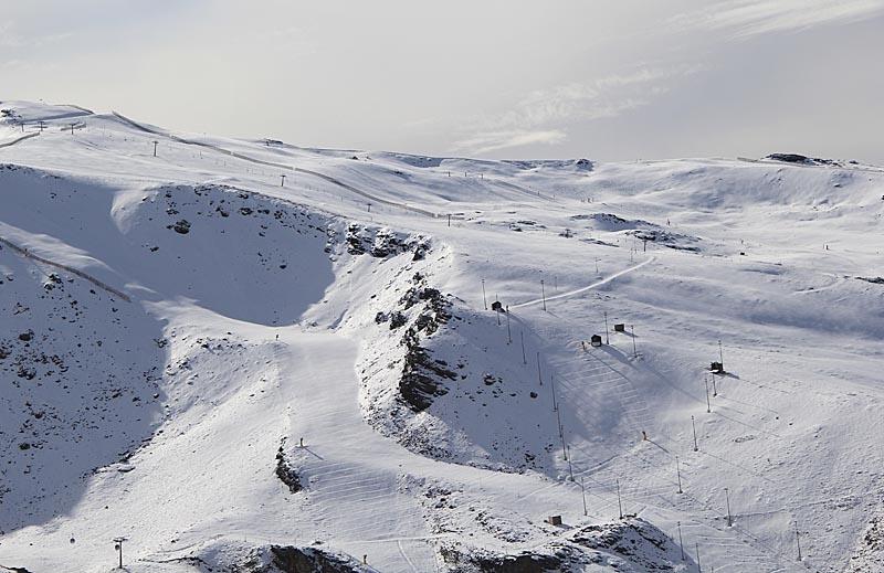 Sierra Nevada var den första skidsportorten i Spanien som öppnade säsongen 2012-2013.