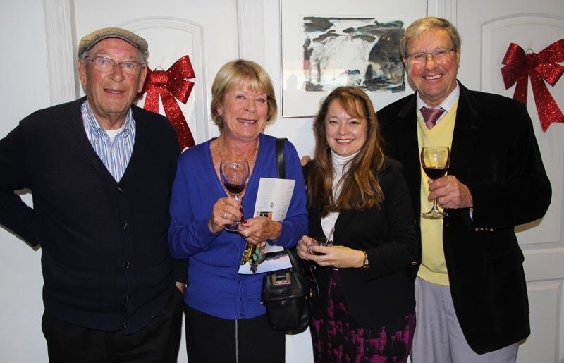 MiaDels ägare Maria Flygare och Lars Lindgren välkomnade besökarna.
