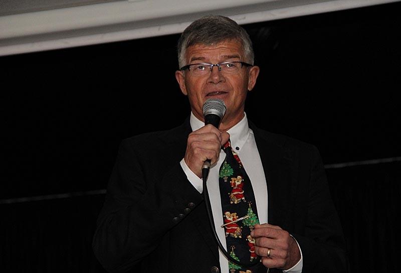 Rektor Per Jonsson hälsade alla välkomna.