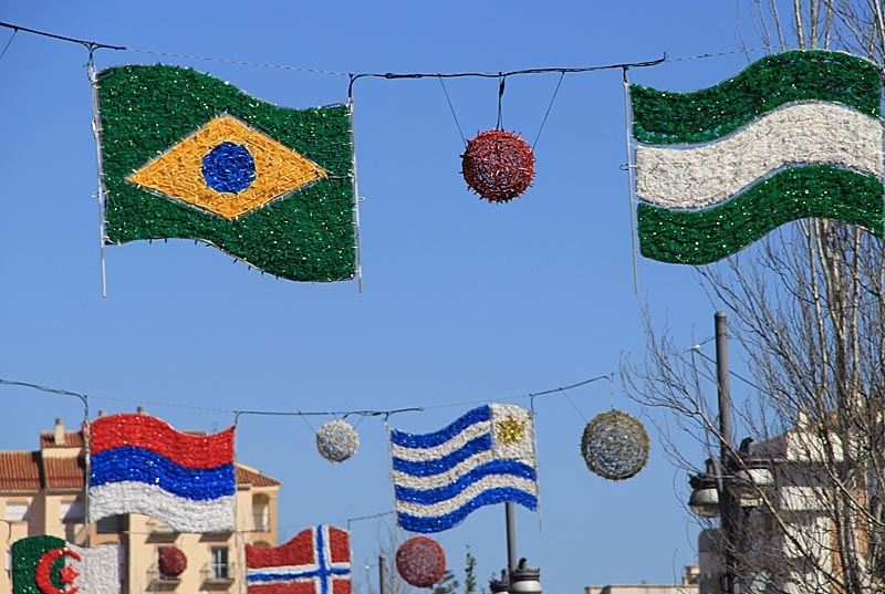 """Sydkustens fotografier från """"Feria de los Pueblos"""" i Fuengirola, med stor publiktillströmning då det var helgdag. Foto: Richard Björkman"""