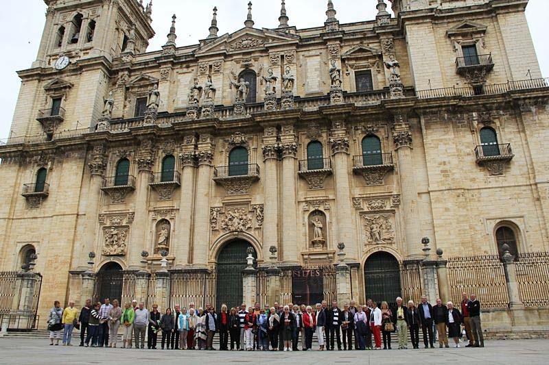 Besök i katedralen i Jaén.