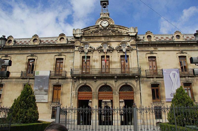 Mottagning på Diputación provincial de Jaén.