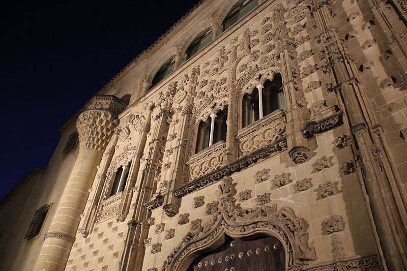 Besök i Baeza, förklarat kulturarv av Unesco. Palacio de Jabalquinto.
