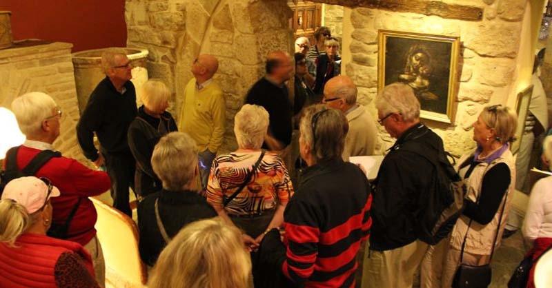 Rundvandring i Úbeda, förklarat som kulturarv av Unesco. Sinagoga del agua.