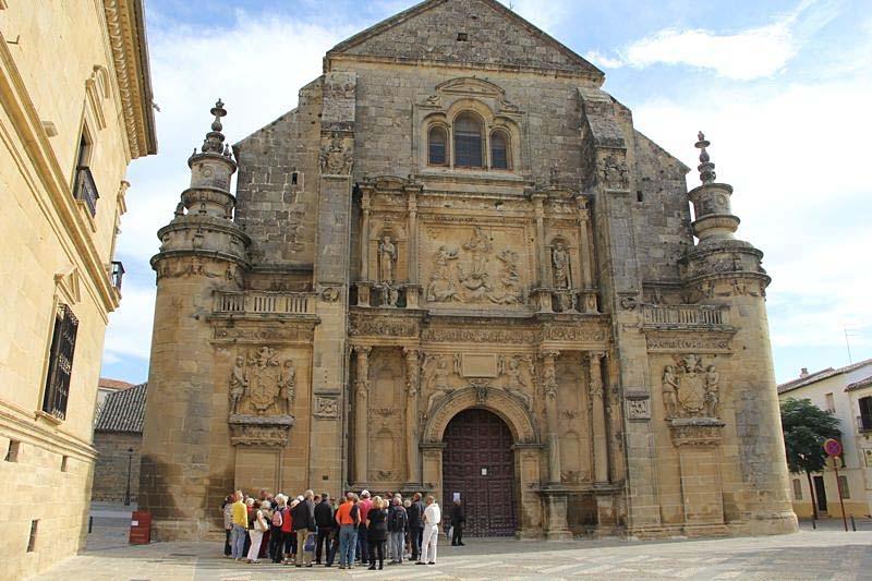 Rundvandring i Úbeda, förklarat som kulturarv av Unesco.