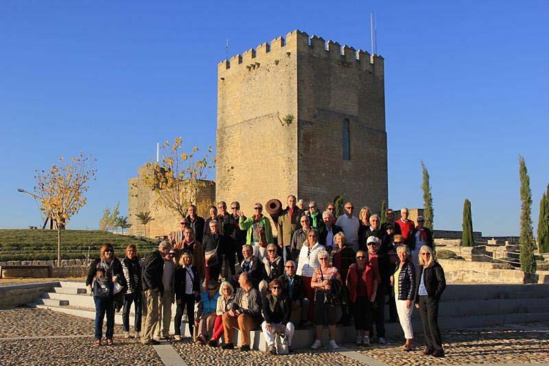 Besök i Fortaleza de la Mota, Alcalá La Real.