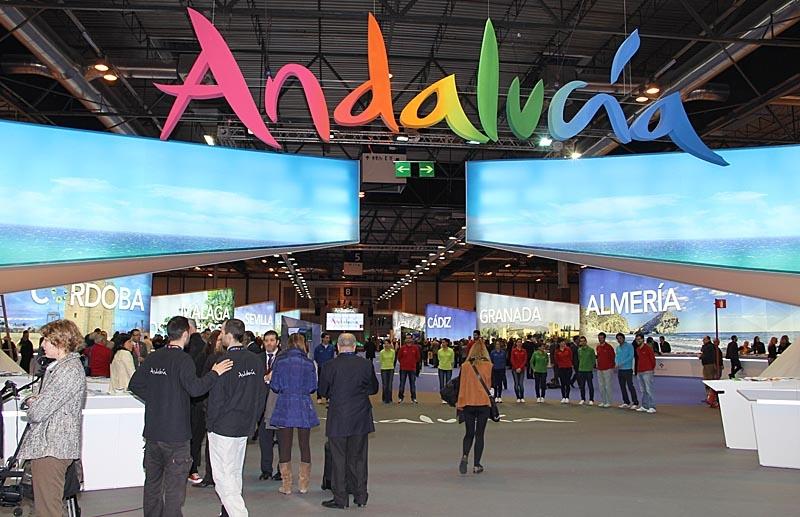 Andalusien har mer än en hel egen utställningshall.