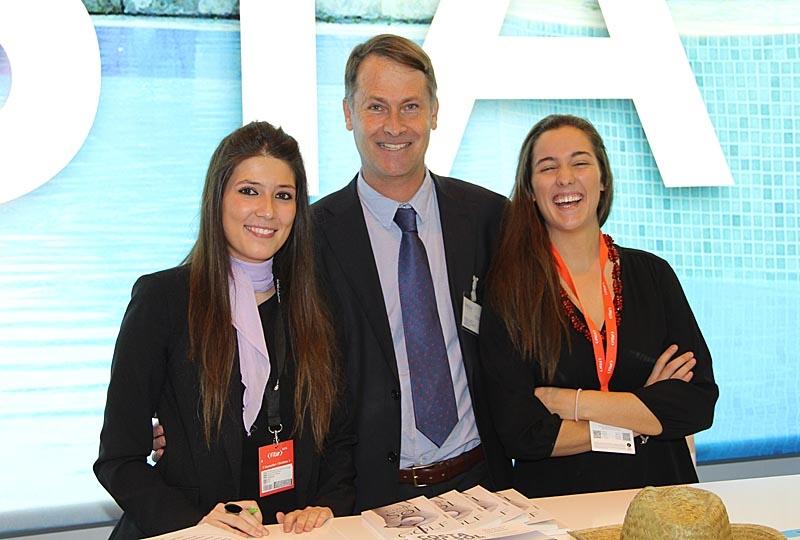 Peter Claesson från Indigo Travel & Events deltog för tredje året.