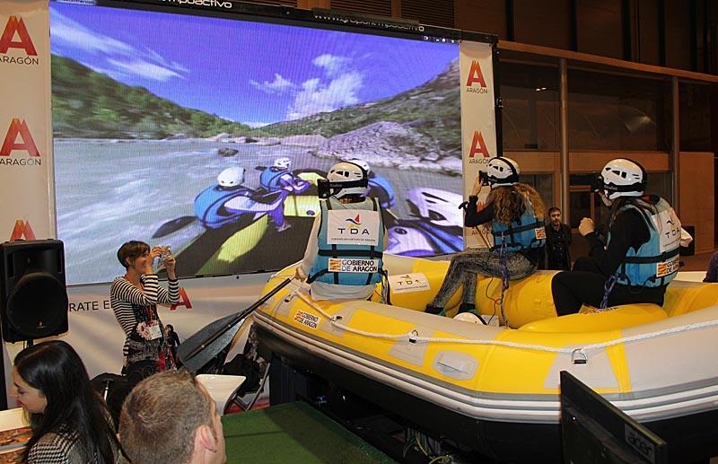 Aragonien lockar med virtuell rafting.