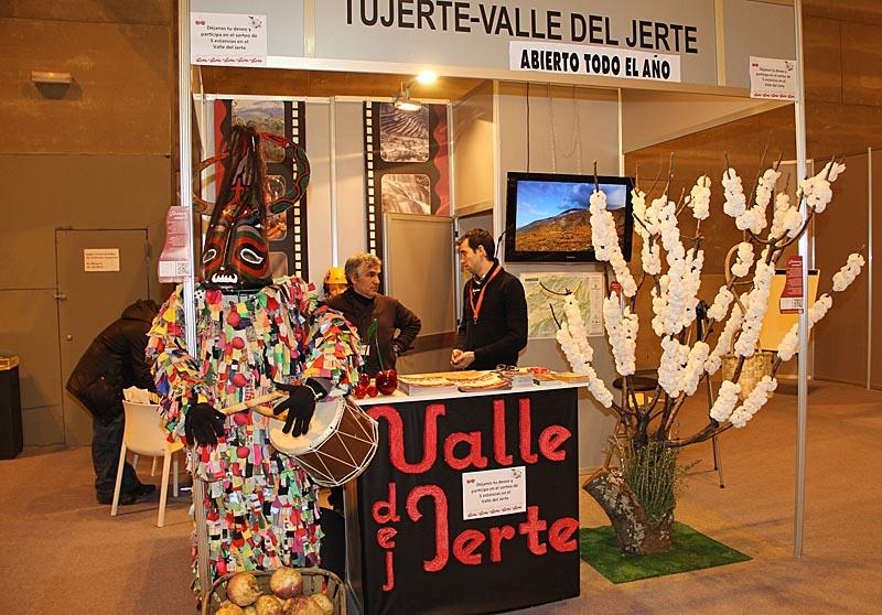 i Valle del Jerte (Extremadura) ställdes det bland annat ut kålrötter.