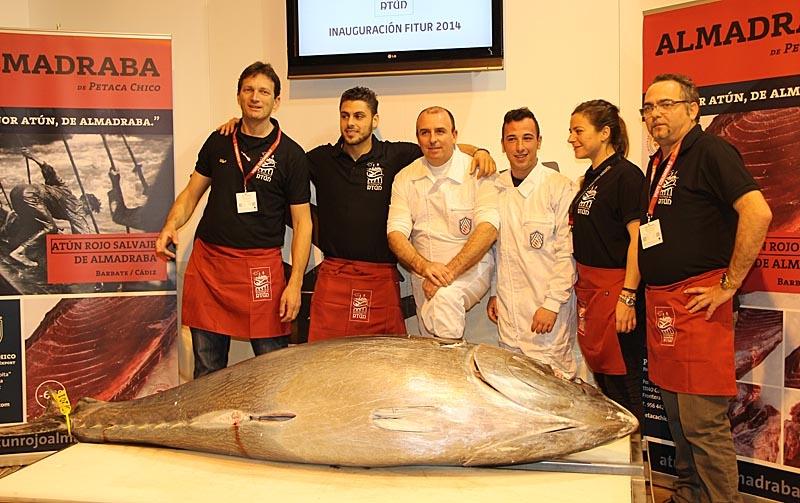 Färsk tonfisk på Fitur.