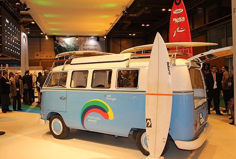 Portugal flaggade bland annat för sina fina stränder och vågor för surfare.