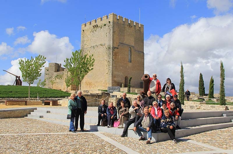 Efter Sydkustens första resa till Jaén i november 2013 var det dags för en ny grupp kustsvenskar att uppleva våren i Paradiset i inlandet.