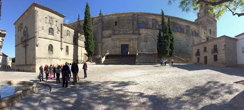 Baeza är förklarat som kulturarv av Unesco, för sina gamla renässanskvarter.