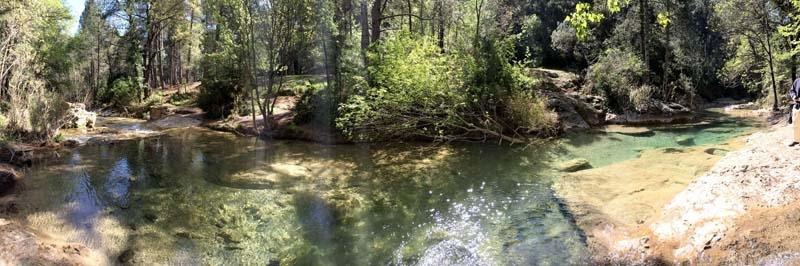 Andalusiens största flod Guadalquivir har sin källa i bergsmassivet Cazorla.