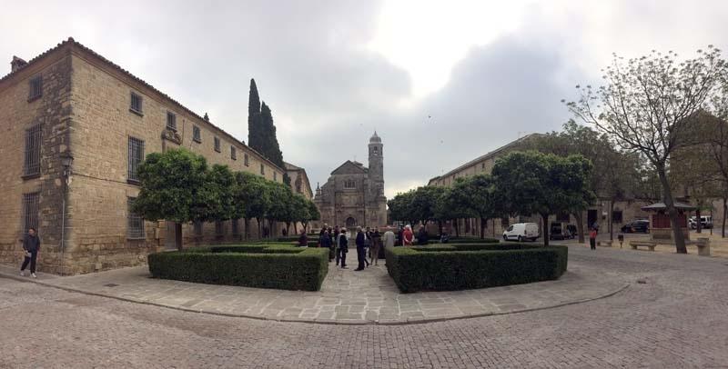 Úbeda är också världskulturarv, med imponerande renässanspalats och kapell.