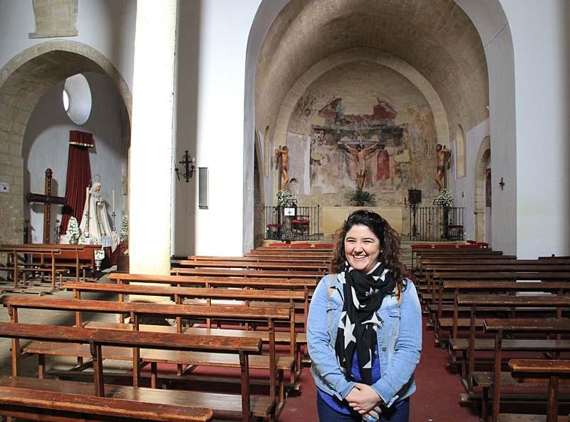 Elena guidade både i olivmuséet och i gamla Baeza.