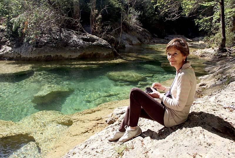 Guadalquivirflodens första sträckning är inbjudande vacker.