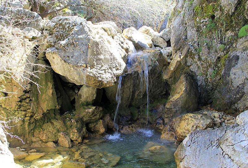 Här föds Andalusiens största flod, som rinner ut 600 kilometer längre bort i Atlanten.