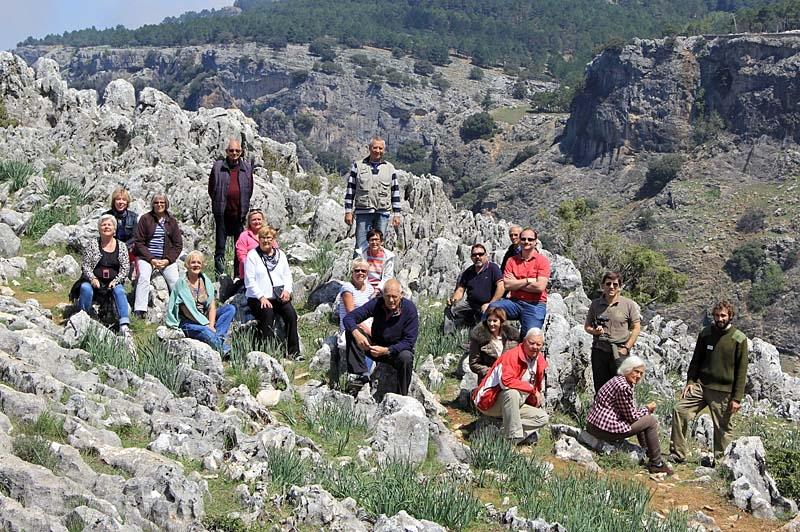 Alla njöt av det vackra vädret och den bedårande naturparken i Cazorla.