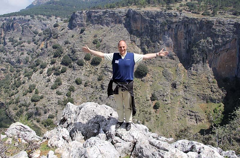 Sydkustens chefredaktör Mats Björkman i det fria.