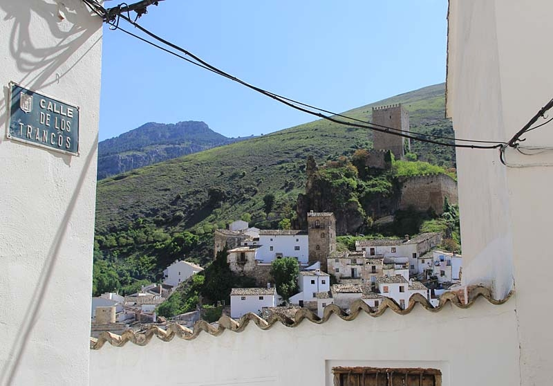Slottet i Cazorla, beskådad från gamla stadskärnan.